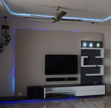 lcd unit for living room