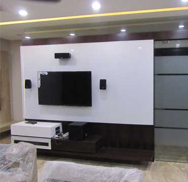 lcd unit wall design