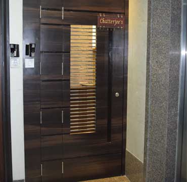 safety door grill design